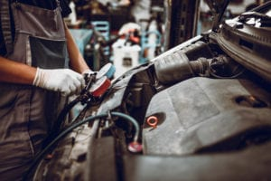engine coolant system service