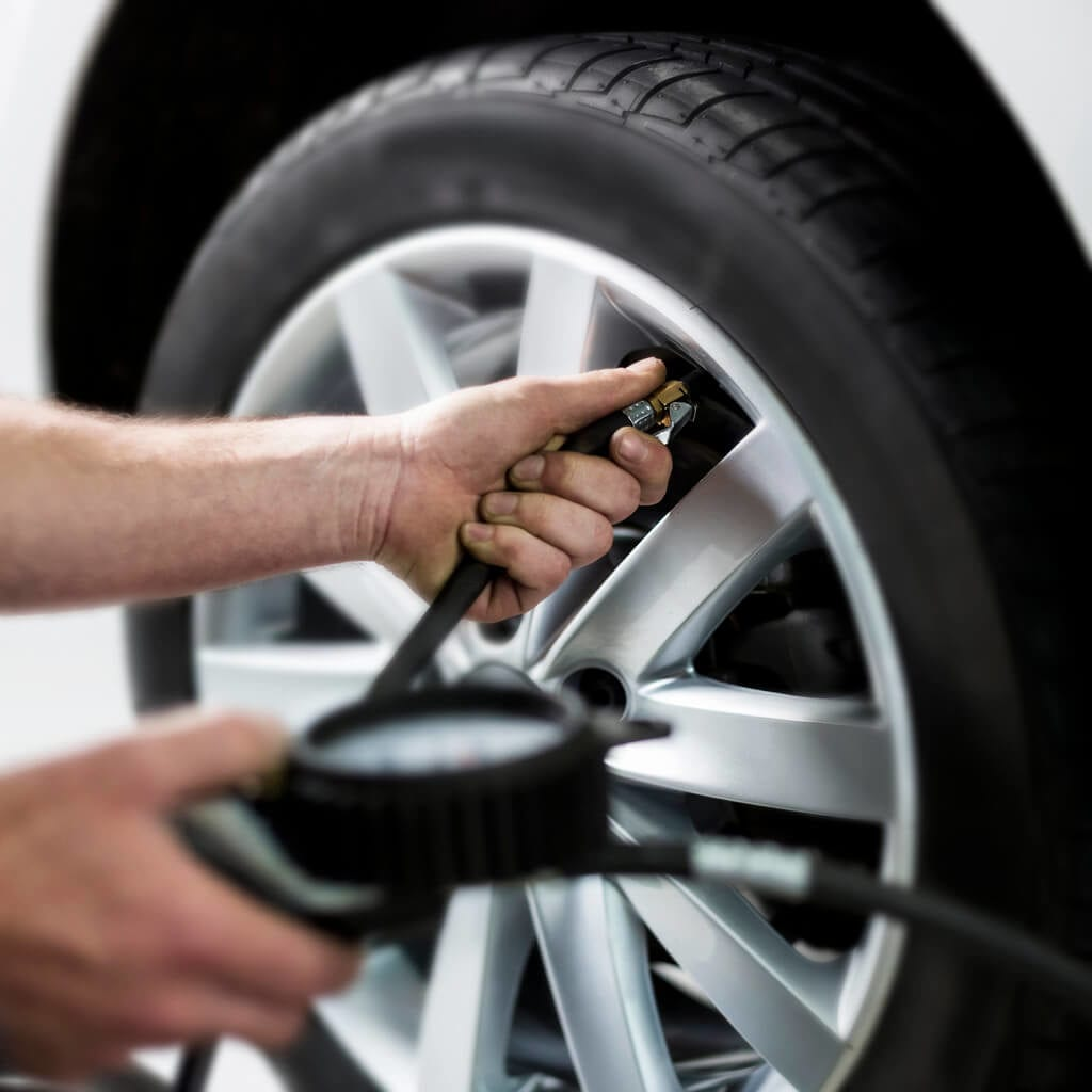 Check your tire pressure when your TPMS light comes on.
