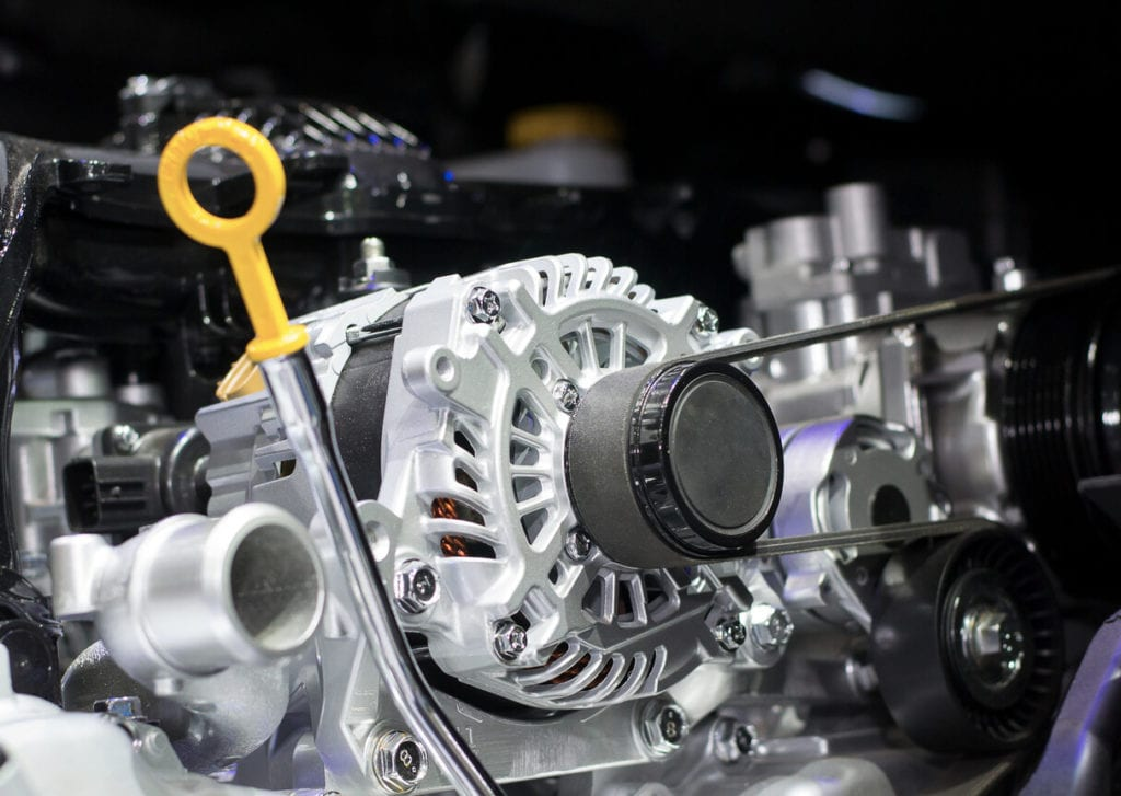what is the purpose of the alternator in a car